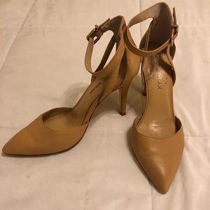 Antonio Melani nude pointed toe heels